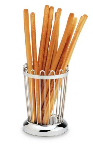 Chrome Bread Stick Basket